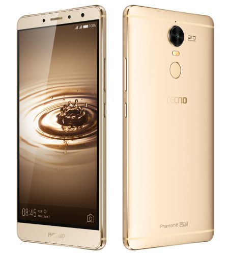 Tecno Mobile Phantom 6 Plus, $150