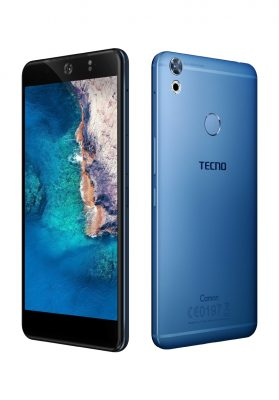 Tecno Mobile Camon CX Blue