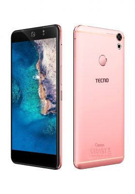 Tecno Mobile Camon CX Rose Gold