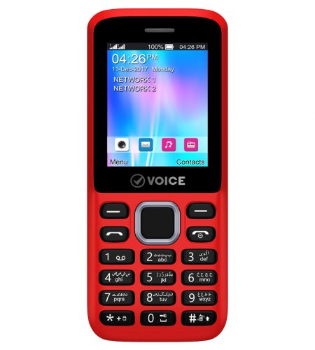 Voice V105 Red Front