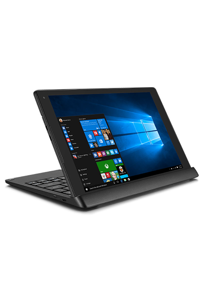 Alcatel PLUS 2-in-1 – 10″ Convertible Tablet with Windows 10 & 4G LTE  Keyboard